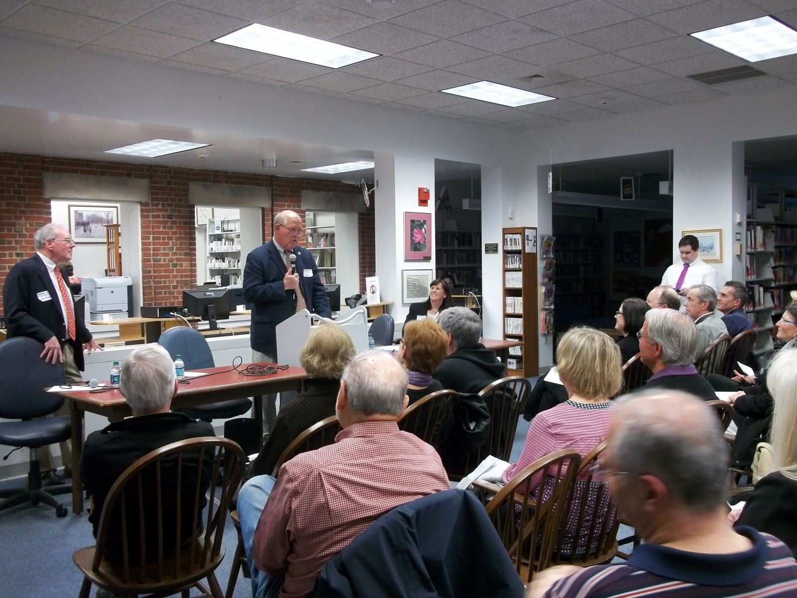 Candidates' Night at the Southborough Library