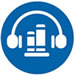 Audiobooks icon graphic