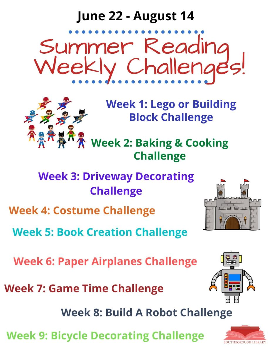 Summer Reading Weekly Challenges