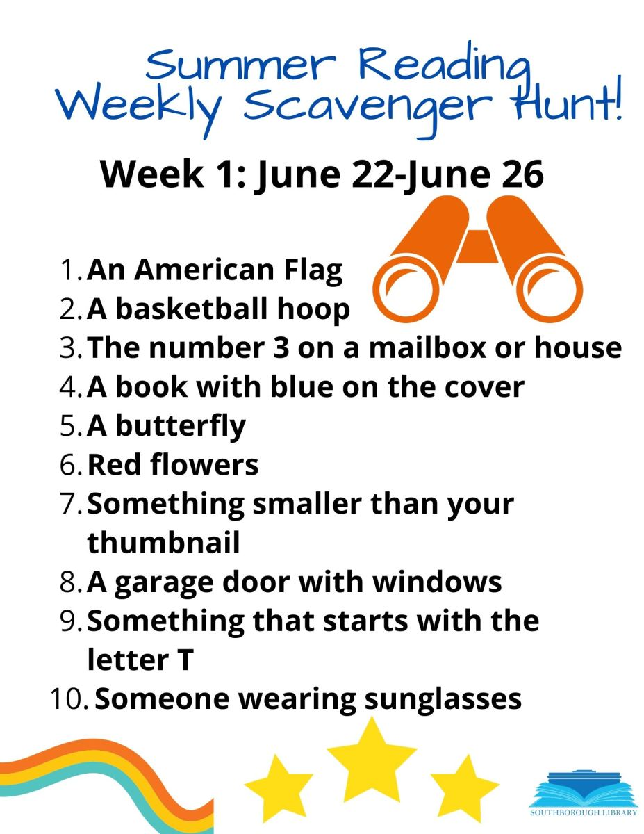 Scavenger Hunt Week 1