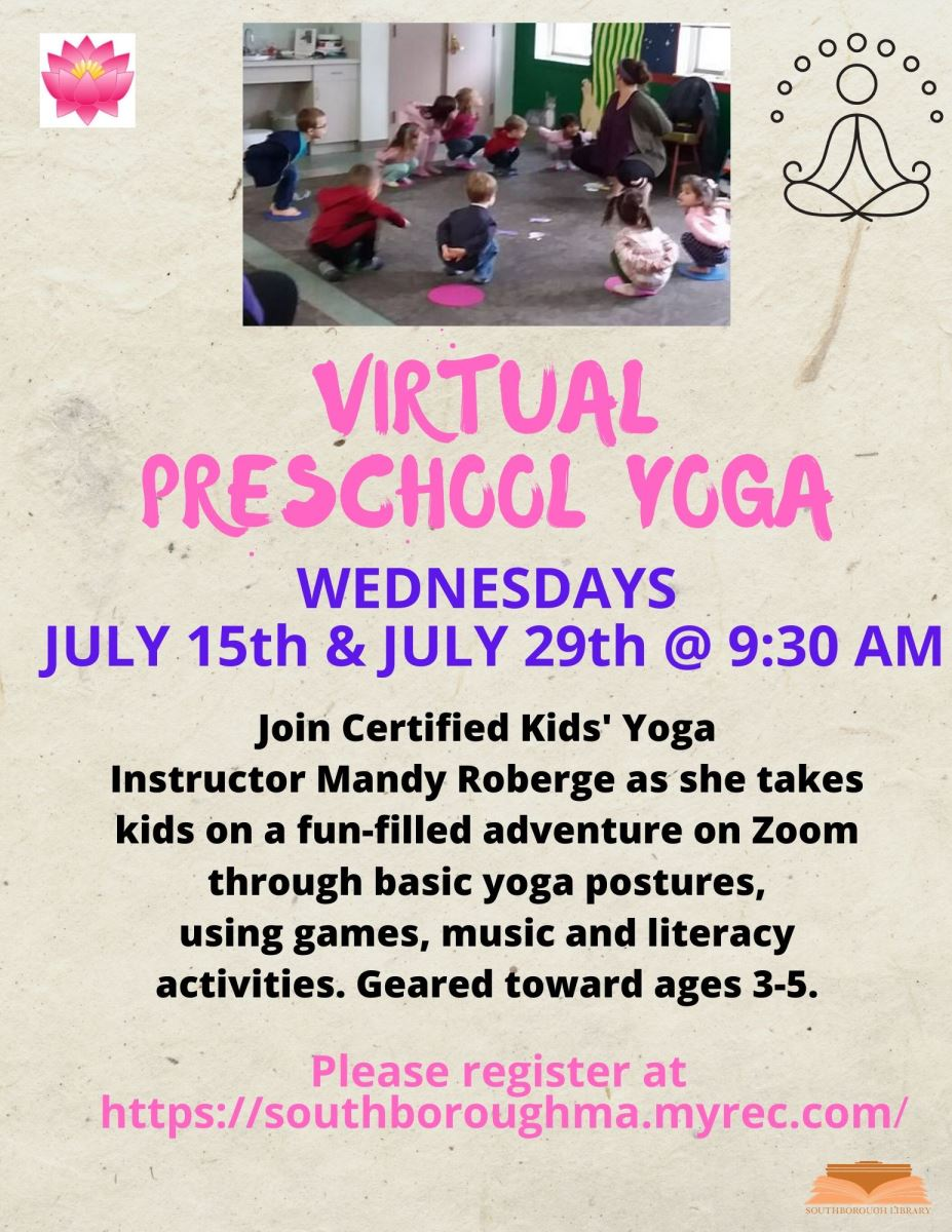 Virtual Preschool Yoga