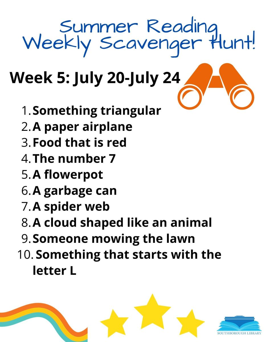 Week 5 Scavenger Hunt